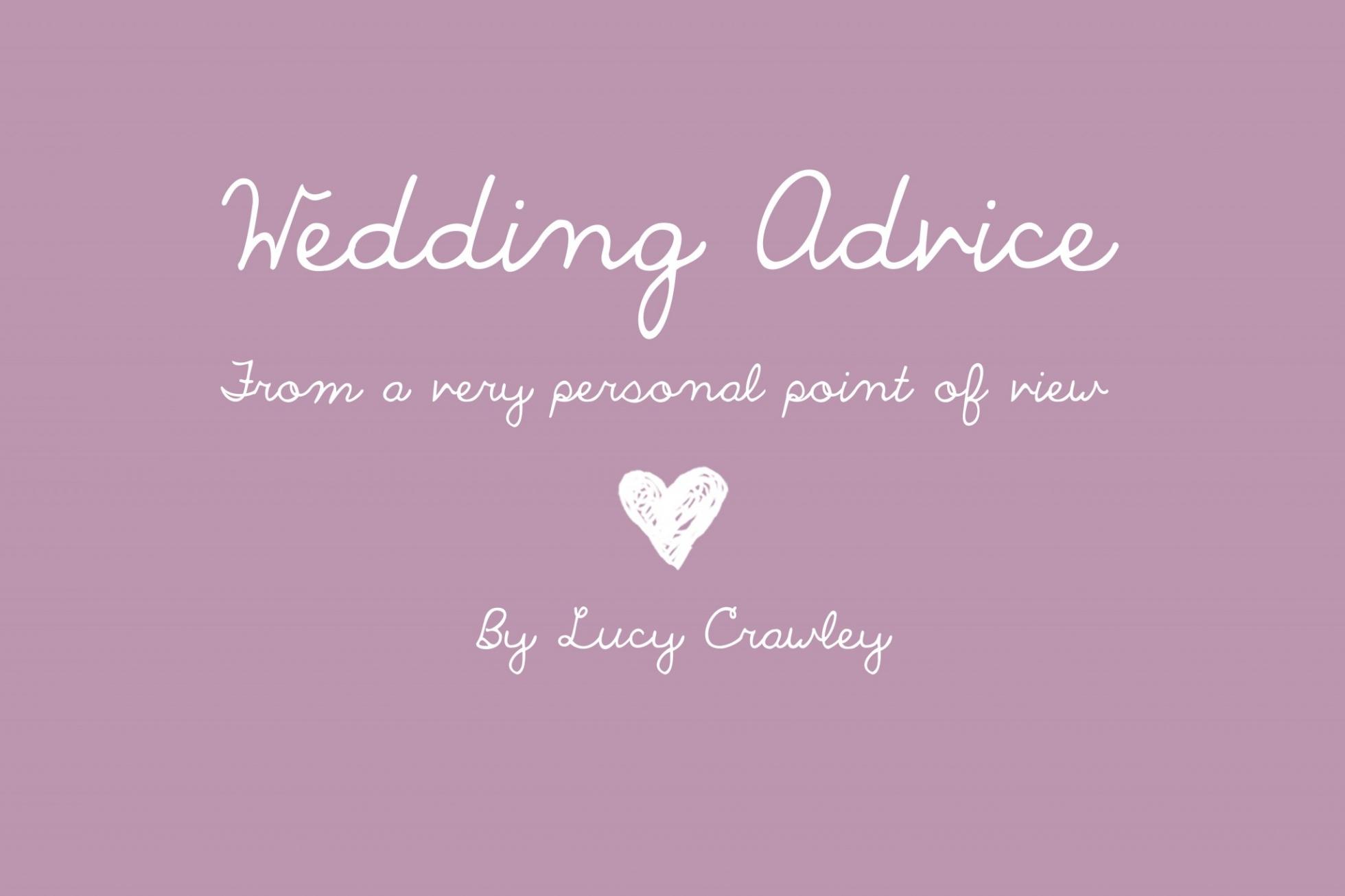 Wedding advice - Lucylou Photography - Hampshire Wedding