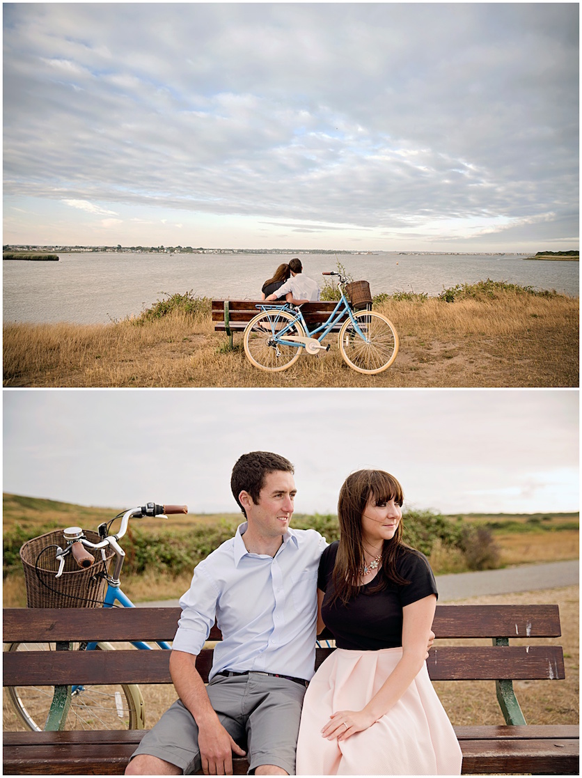 Summer Engagement Shoot at Hengistbury Head