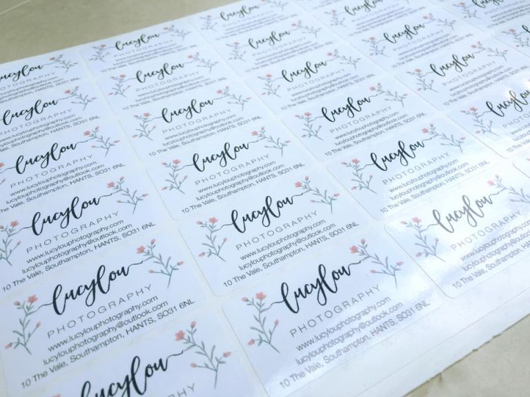 Lucylou Photography business stickers