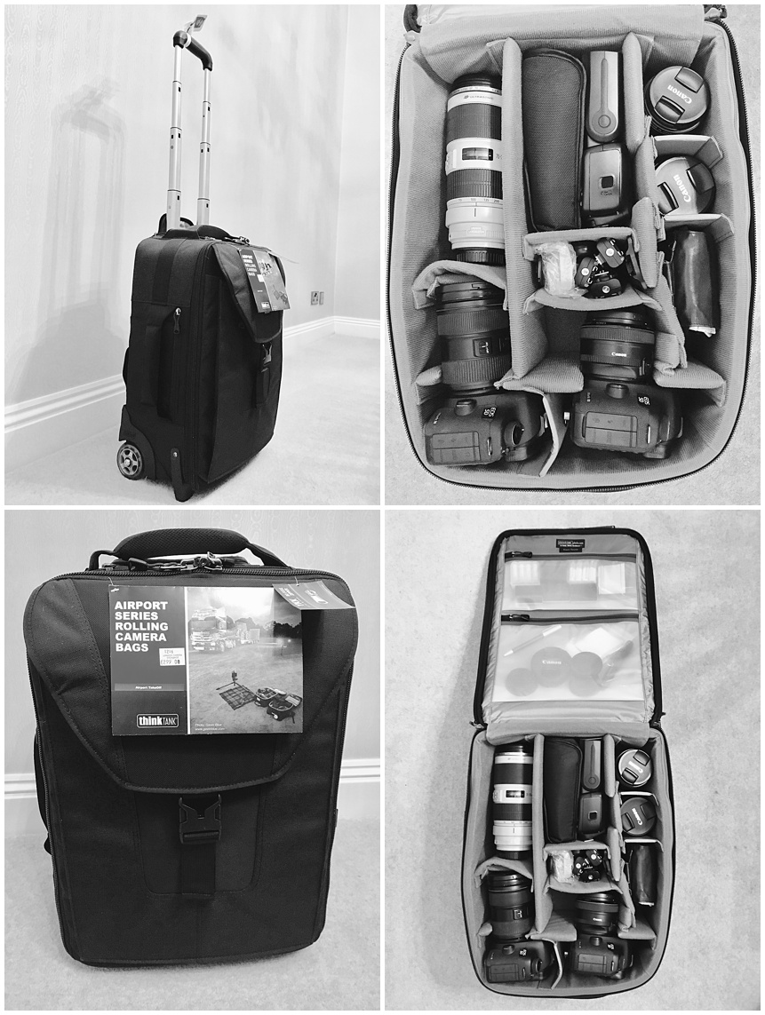 Think Tank Airport TakeOff rolling Camera bag