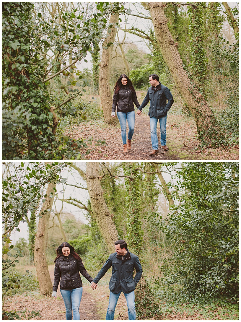 Netley Country Park Engagement Shoot