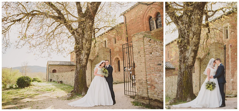 Beautiful destination wedding in Tuscany, Italy