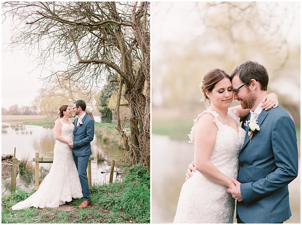 relaxed Sopley Mill wedding sneak peek