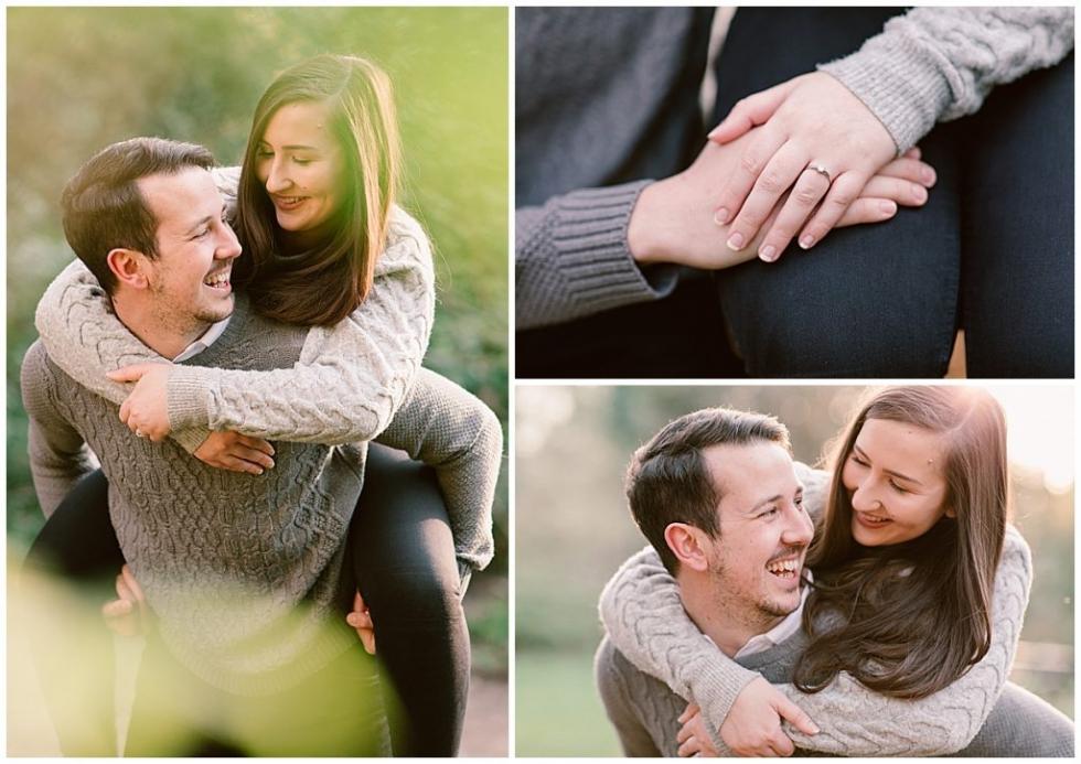 Engaged couple, Hampshire Engagement Shoot